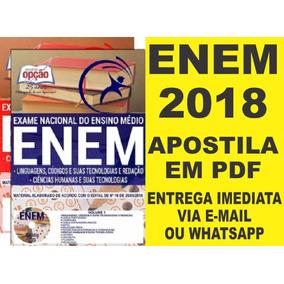 Apostila Enem 2018 Completa + Brinde