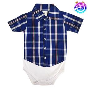 Body Camisa Social Branca Bebe - Roupas de Bebê no Mercado Livre Brasil ca114260bbd
