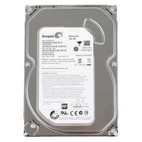 Hd 3.5 Seagate Barracuda 500gb Sata 3 - Novo Lacrado