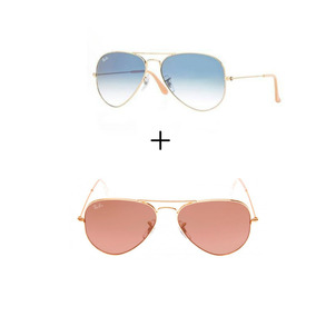Oculo Sol Feminino Ray Ban Aviador Azul - Óculos no Mercado Livre Brasil 8559ff8c55