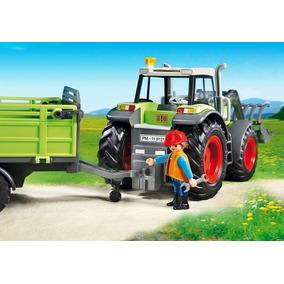 Playmobil - Trator C/ Carretinha 5121 - Original - Completo