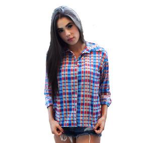 30577031d7f74 Camisa Feminina Xadrez Inverno Festa Do Peão Junina Country