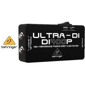Caja Directa Pasiva Behringer Ultra Di-400p - Envíos!!!