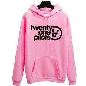 Blusa De Frio Moletom 21 Twenty One Pilots Banda Tumblr ca726f6c9f8ab