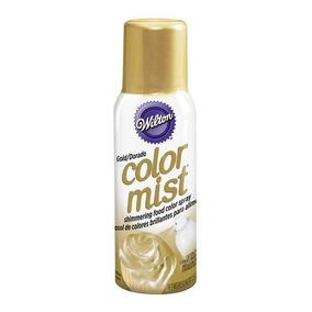 Color Spray Dorado Wilton 710-5520