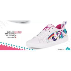 cb18833c646 Zapatos 2019 - Zapatos para Niñas Blanco en Mercado Libre México