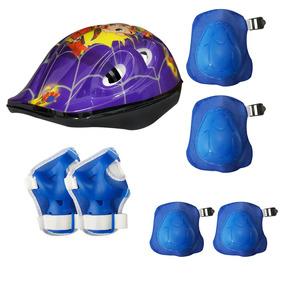 Kit Proteção Infantil Gts M1 Capacete - Várias Cores