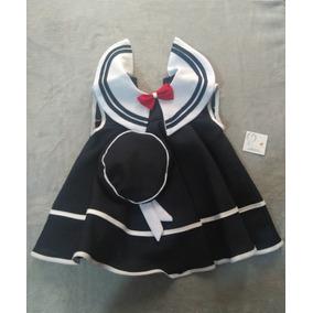 Bata De Marinerita Con Gorrito Para Bebe Circular