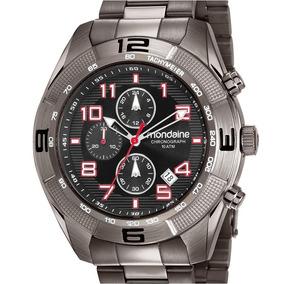 Relógio Mondaine Masculino Chronograph Preto 83415gpmvss2