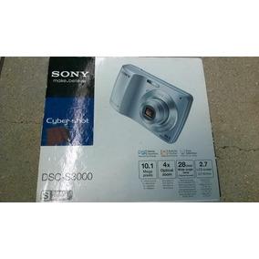 Camara Fotografica Cyber-shot Marca Sony Modelo Dsc-s3000