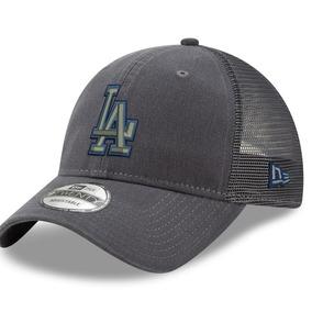 a8fae05109df6 Gorra Los Angeles Dodgers New Era 9twenty Gris Ajustable