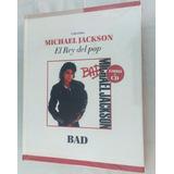Michael Jackson- Bad/ Libro+ Cd Nuevo Y Original
