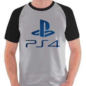 ef452a8e1 Camiseta Playstation Logo - Camisetas Manga Curta para Masculino no ...