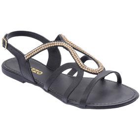 5047c654116 Sandalia Akazzo Rasteira - Sapatos no Mercado Livre Brasil