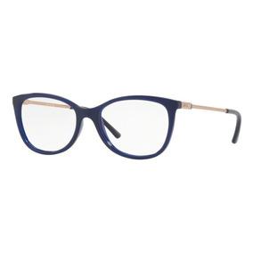 Armação Oculos Grau Grazi Massafera Gz3033 E810 Azul Brilho 47ff84c382
