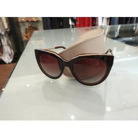 Óculos De Sol Carmim Marrom Polarizado Com Detalhe Branco 99e9977819