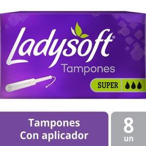 Tampón Femenino Ladysoft Super Absorción 8u Oferta