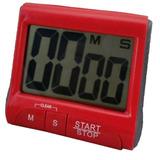 Cronômetro Digital De Cozinha Com Timer Sonoro