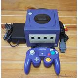 Nintendo Gamecube Indigo + 1 Control + Cables. #somostienda.