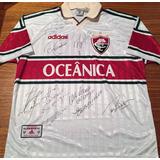 Camisa Fluminense Diego Cavalieri Autografada - Camisas de Futebol ... 53c3152344fa9
