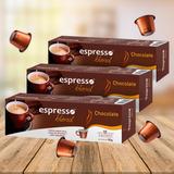 Kit Cápsulas Espresso Blend Chocolate - Para Nespresso