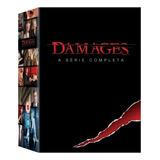 Dvd Box Damages - A Série Completa - 15 Disco -novo Original