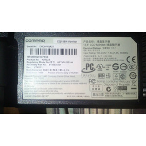 Monitor Compaq 15,6 Pulgadas Lcd Excelente Con Garantia