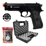 Pistola Airsoft Cybergun Taurus Pt 92 Mola+ Maleta+ Esferas