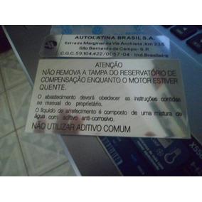 Adesivos Original Vw Capo Saveiro Cl Gl Mini Frente