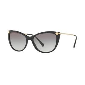 Oculos Sol Versace Ve4345b Gb1 11 57 Preto Brilho Degradê d18d68dd62