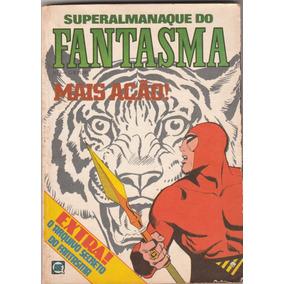 Super Almanaque Do Fantasma Nº 3 - Editora Rge 1981