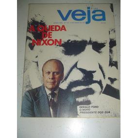 Revista Veja 310 Nixon Jerry Adriani Zappa - Nora Ney 1974