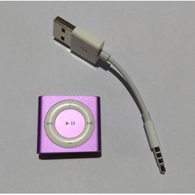 Ipod Shuffle 4 Geração 2gb Lilás Cabo Usado Apple - Rf4t0
