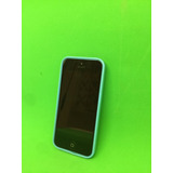 Apple Iphone 5c 8gb Desbloqueado - Azul Com Capa