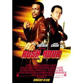 Banner De Cine. Rush Hour 3 Jackie Chan. Gigantografia.