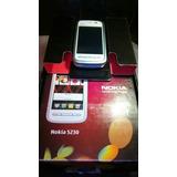 Nokia 5230 Nuevo , Touch ,blanco /azul , 3g , Movistar