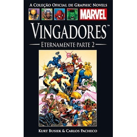 Graphic Novel Marvel Nº 15 (vingadores - Eternamente Pt Ii)