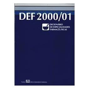 Dicionario De Especialidades Farmaceuticas Pdf