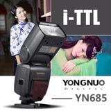 Yongnuo Yn685 Hss Ttl Flash Nikon D750 D810 D7200 D610 Dslr