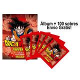 Álbum Dragon Ball Universe + 100 Sobres De Estampas! + Envío