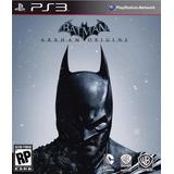 Batman Arkham Origins Latino Digital Ps3