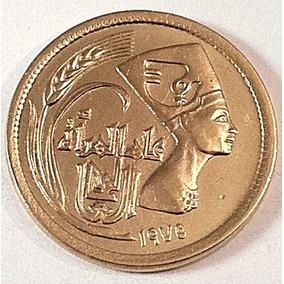 Egito Moeda Rara Da Rainha Nefertiti,outras Com Esfinge,fao