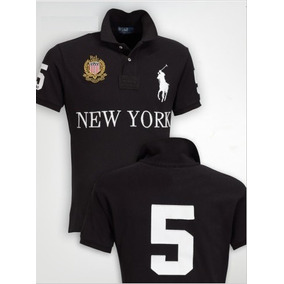 Camisa Polo Ralph Lauren New York Big Pony Original Adulto c3f2c2aabd2