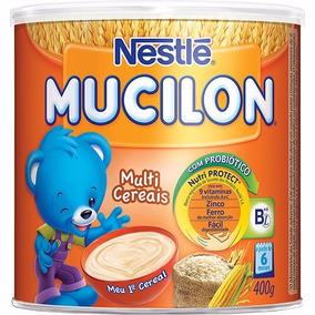 Mucilon Multicereais Cereal Infantil 400g-nestlé-8 Latas