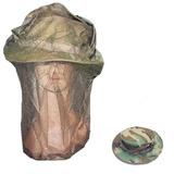 Boonie Hat Woodland Com Tela Apicultor Pesca Contra Insetos