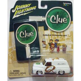 Johnny Lightning Y Hasbro, Clue 1955 Ford Panel Van, E:1/64.