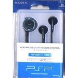 Audifonos Psp Sony Con Control Remoto Para Psp 2001 Y 3001