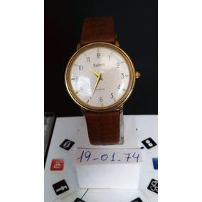 8a0bdf4a127 Relogio Natan Social Unissex - Joias e Relógios no Mercado Livre Brasil