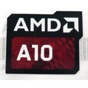 Adesivo Original Amd A10 (layout Novo)