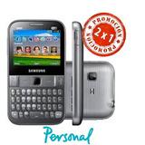 Oferta 2x1 Samsung Chat Gt-s5270- Ref Bueno- Personal